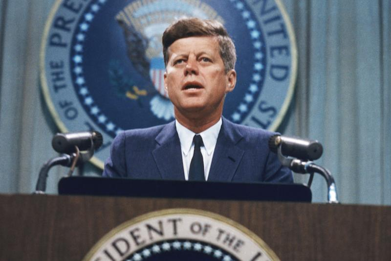 Pres. Trump blocks release of some JFK files