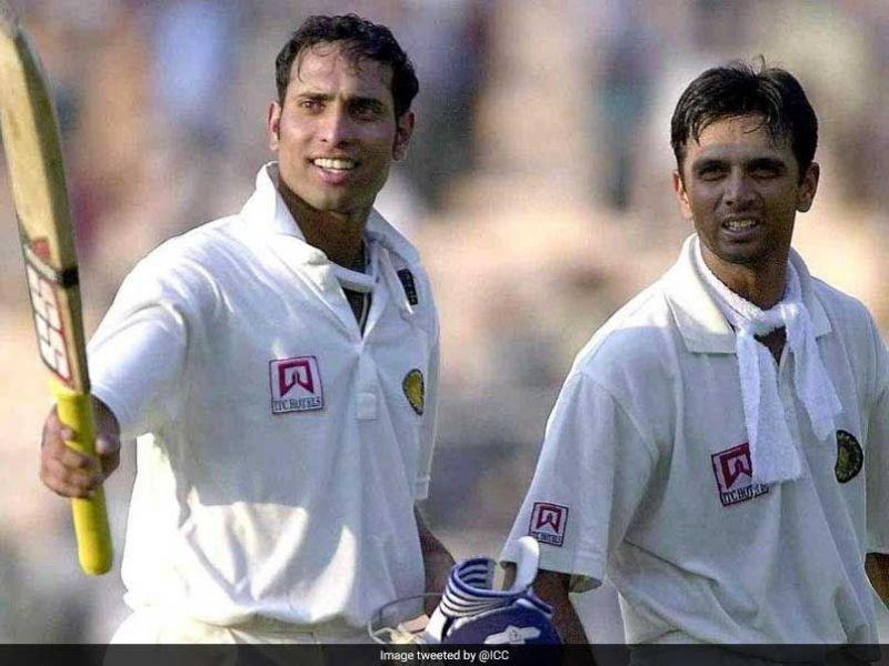 Dravid and Laxman at The Eden