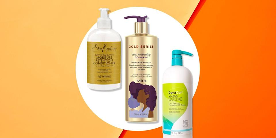 """<p>TBH, all curls are beautiful. From waves to coils, we love it all. And while proper styling products are a must for practically any hair type, it's extra important for <a href=""""https://www.womenshealthmag.com/beauty/a19905010/curly-hair-essentials/"""" rel=""""nofollow noopener"""" target=""""_blank"""" data-ylk=""""slk:curly gals"""" class=""""link rapid-noclick-resp"""">curly gals</a>, especially those with 4C curls. If you have 4C hair, your curls are not only the tightest, but the <a href=""""https://www.womenshealthmag.com/beauty/a19891481/fix-dry-hair/"""" rel=""""nofollow noopener"""" target=""""_blank"""" data-ylk=""""slk:driest"""" class=""""link rapid-noclick-resp"""">driest</a>, too which means using the wrong products can make styling your hair quite the challenge. </p><p>According to <a href=""""https://www.factsaboutdevacurl.com/us/expert-curl-council"""" rel=""""nofollow noopener"""" target=""""_blank"""" data-ylk=""""slk:DevaCurl Expert Curl Council"""" class=""""link rapid-noclick-resp"""">DevaCurl Expert Curl Council</a> member and hairstylist, <a href=""""https://www.instagram.com/yenedamtew/"""" rel=""""nofollow noopener"""" target=""""_blank"""" data-ylk=""""slk:Yene Damtew"""" class=""""link rapid-noclick-resp"""">Yene Damtew</a>, 4C curls are very tightly coiled with minimum definition and a lot of shrinkage. This type of curl is usually very dry, so moisture is essential for healthy and strong hair. """"The key to beautiful 4C curls is moisture, moisture, moisture,"""" Damtew says. </p><p>She recommends deep conditioning the hair once a week with a hydrating mask to keep strands healthy, moisturized and soft. You'll also want to look for ingredients with rich formulas and hydrating ingredients like natural butters and oils. """"This will help to restore and lock-in moisture,"""" says Damtew. Not to be repetitive, but proper moisture will truly transform your curls. To help you find your perfect curl cocktail, here are the best hair products for 4C hair. From leave-in treatments to hydrating masks, keep scrolling to learn more about the best products for your hair ty"""