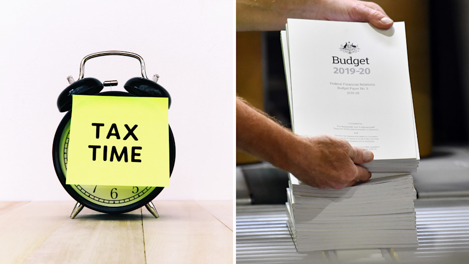 The government has handed down a series of tax cuts before voters go to the polls in May. Source: Getty Images