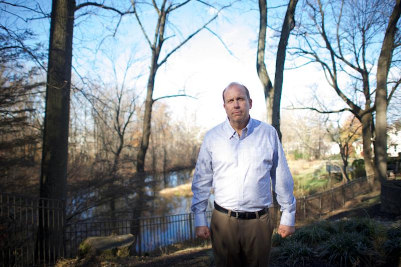 Democratic candidate Daylin Leach for Pennsylvania's 7th congressional district is pictured at his residence in Wayne, Pennsylvania, U.S., December 1, 2017.  Picture taken December 1, 2017.   REUTERS/Mark Makela