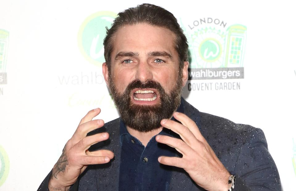 TV Presenter Ant Middleton attends as Hollywood actor Mark Wahlberg hosts a VIP party to celebrate the new U.K outlet of his burger restaurant in London's Covent Garden. (Photo by Keith Mayhew/SOPA Images/LightRocket via Getty Images)