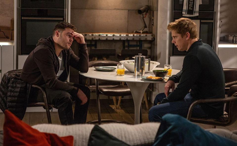 <p>How will Aaron react to the truth about Robert's charge?</p>