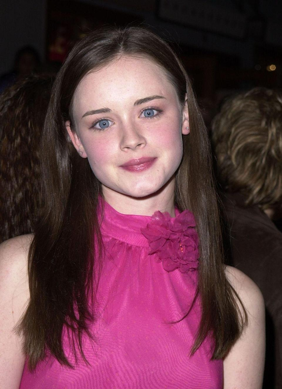 <p>Alexis Bledel landed her breakout role as Rory Gilmore when she was just 19 years old. While working on the show, Alexis began her career in film, starring in <em>Tuck Everlasting </em>and <em>The</em> <em>Sisterhood of the Traveling Pants. </em></p>