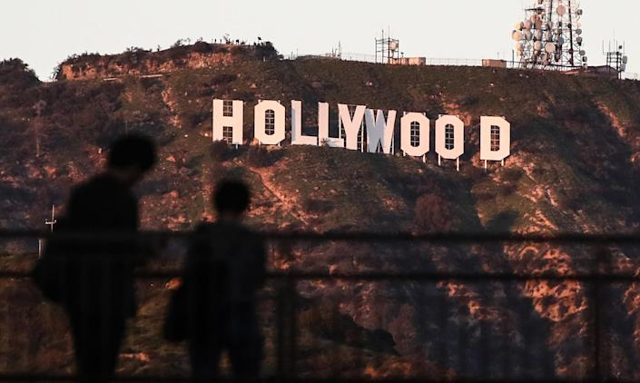 The Hollywood sign is said to be haunted by actress Peg Entwistle, who died there in the 1930s.