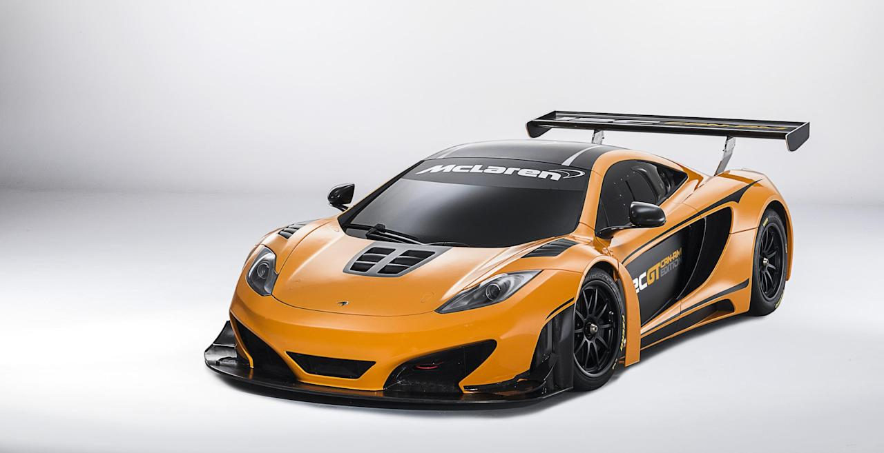 Each car will be fitted with an unrestricted version of the car's 3.8-litre twin-turbo V8 engine with a special engine calibration, and optimised cooling system to increase the power output of up to 630hp, making the 12C GT Can-Am Edition the most powerful 12C produced (McClaren)