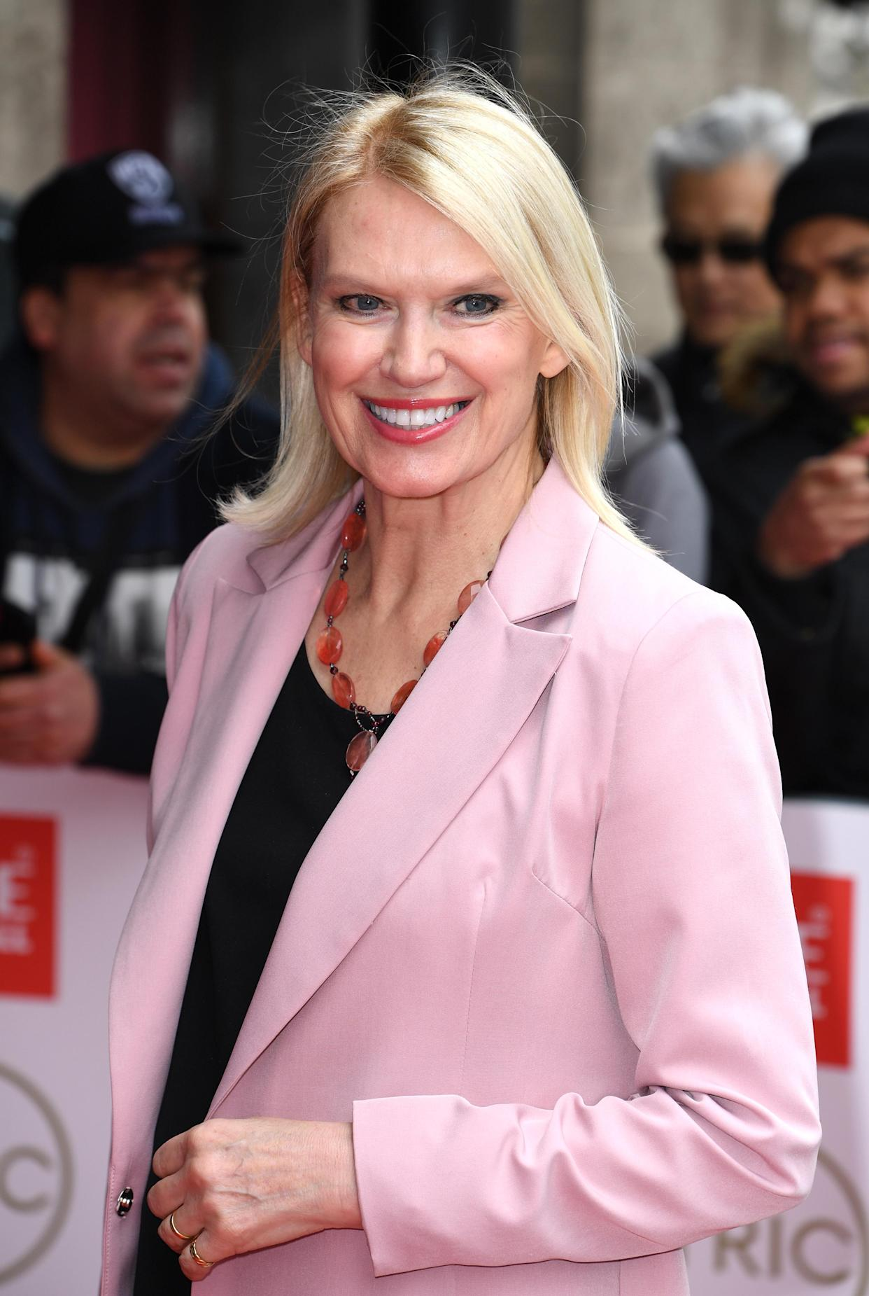 Anneka Rice arriving at the TRIC Awards, Grovesnor House Hotel, London. Picture credit should read: Doug Peters/EMPICS