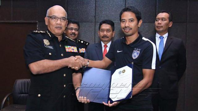 JDT became the next team to make a corruption-free pledge with MACC