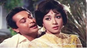 Biswajeet and Mala Sinha in Night In London