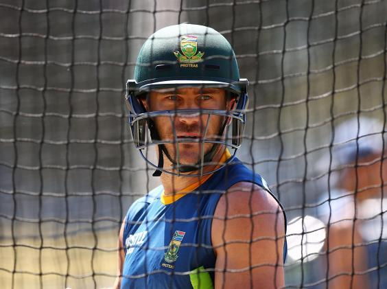 Faf du Plessis was criticised for his comments (Getty)