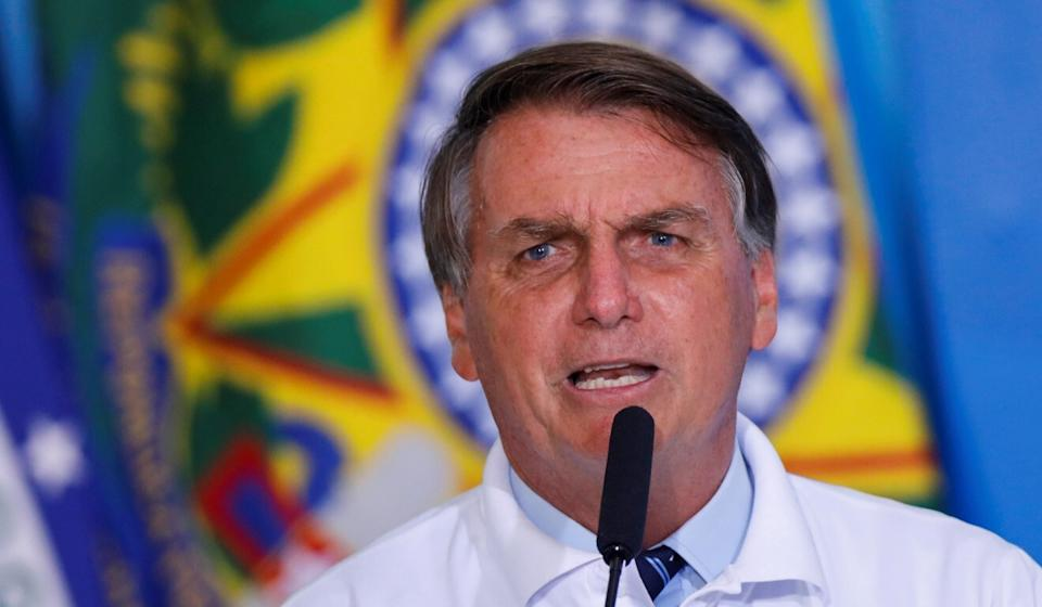 President Jair Bolsonaro of Brazil has disparaged CoronaVac and says he does not want it included in the country's immunisation programme. Photo: Reuters