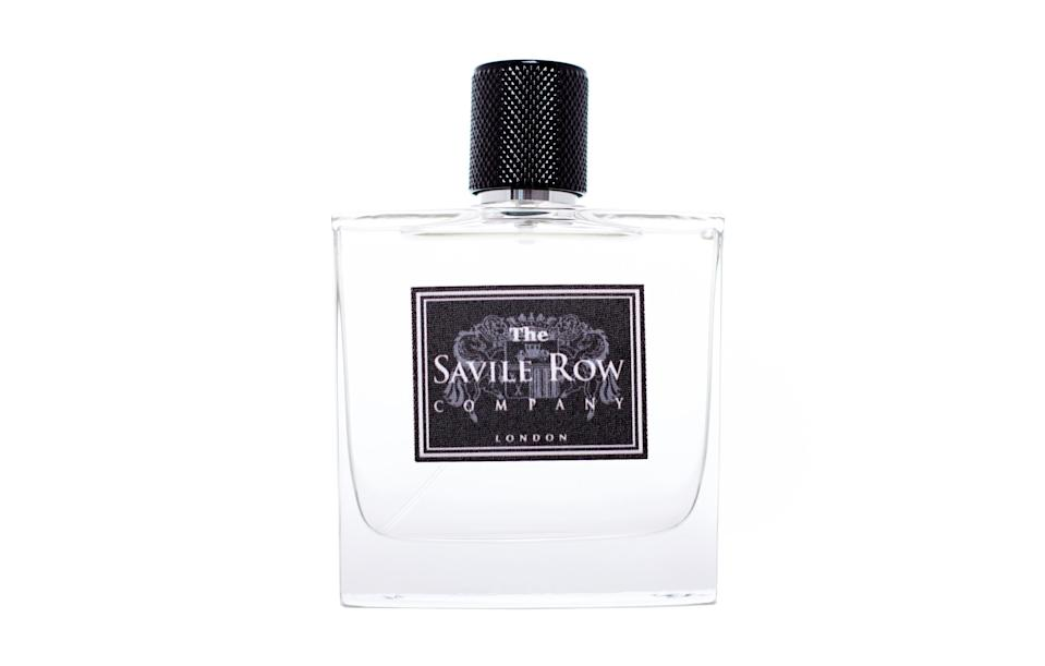 "<p><a href=""http://savilerowfragrance.com/"" rel=""nofollow noopener"" target=""_blank"" data-ylk=""slk:Savile Row Company, from £27"" class=""link rapid-noclick-resp""><i>Savile Row Company, from £27</i></a><br><br></p>"