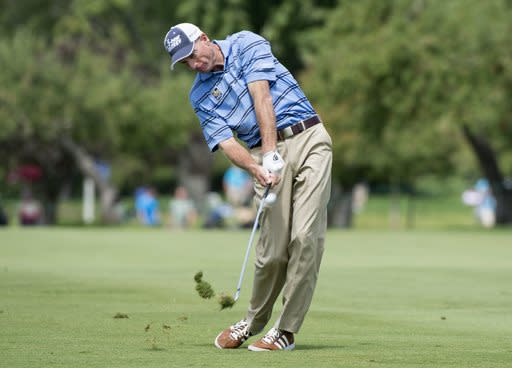 Jim Furyk lost a three-shot lead en route to a second-place finish at the Canadian Open. (AP)
