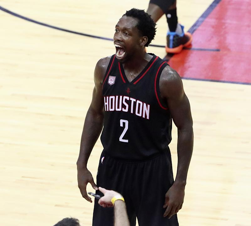 Patrick Beverley made his voice heard and presence felt in Game 1. (Getty Images)