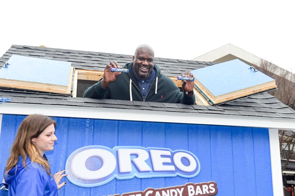 Shaquille O'Neal is apparently an impulse shopper. (Getty)