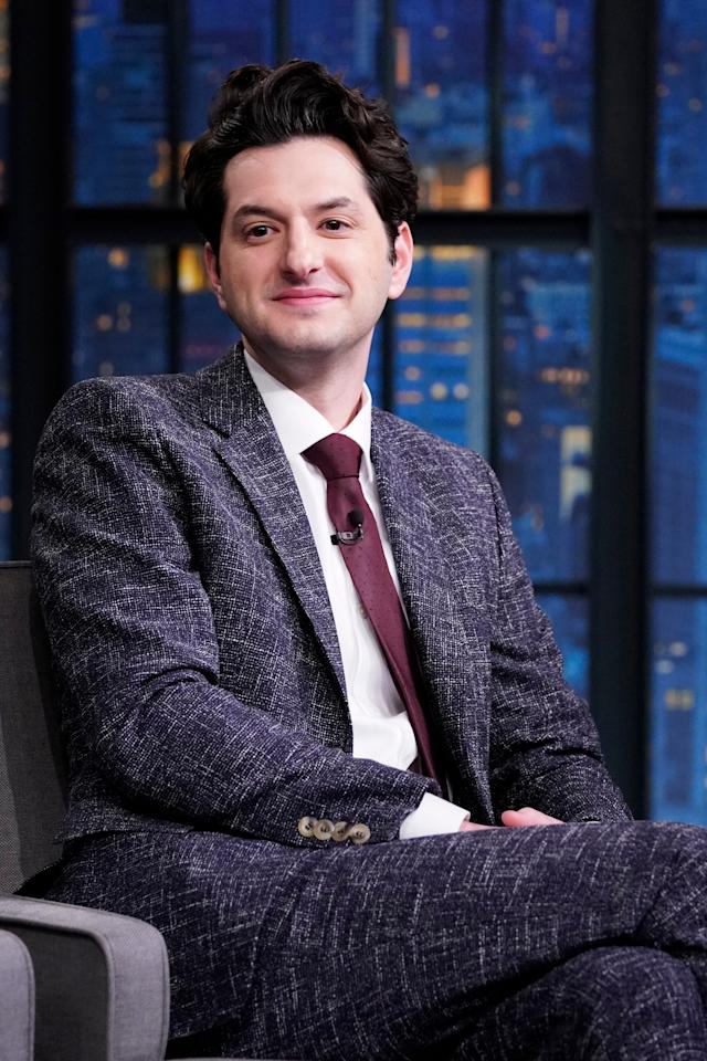 Proof that you can have long-ish hair and still look polished enough for late-night TV.