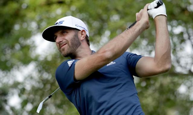 """<span class=""""element-image__caption"""">Dustin Johnson rose to No1 in the world rankings with his victory in the Genesis Open in February and followed that by winning the WGC Mexico Championship.</span> <span class=""""element-image__credit"""">Photograph: Justin Heiman/Getty Images</span>"""