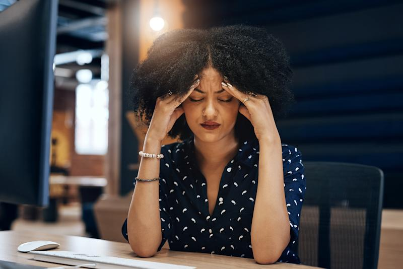 What migraine sufferers need to know in light of GlaxoSmithKline temporarily halting production of Excedrin Extra Strength and Excedrin Migraine. (Photo: Getty Images)