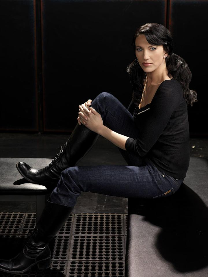 Claudia Black stars as Vala Mal Doran in Stargate SG1.
