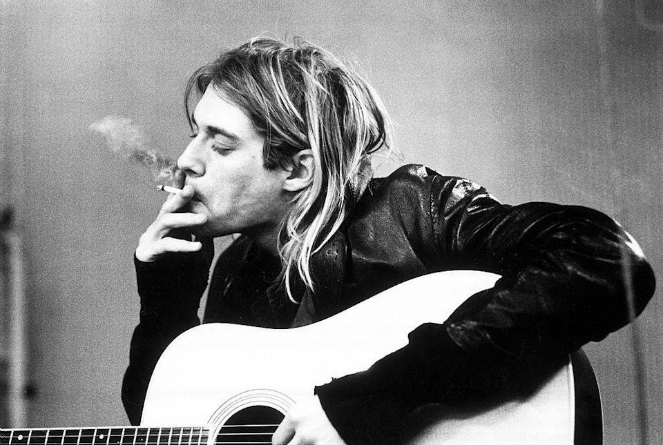 <p>Kurt Cobain was found dead in his Seattle home on April 8, 1994. The police revealed that he had shot himself three days prior and left a suicide note and gun nearby.</p>