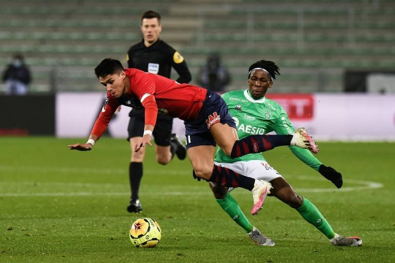 Lille were held by out-of-form Saint-Etienne