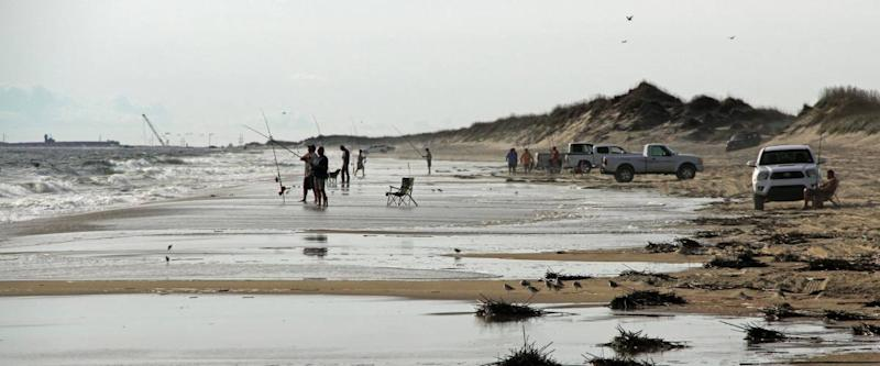CAPE HATTERAS, N.C. - OCTOBER 22: Cape Hatteras National Seashore provides numerous recreational activities for the public