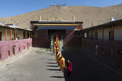 The Tnagyud Gompa monastery in northern India is isolated by snow for seven months a year