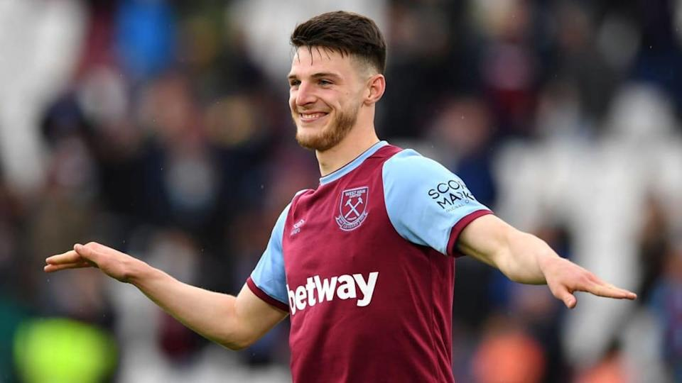 Declan Rice | Pool/Getty Images