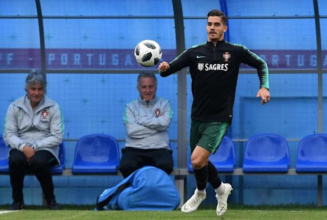 Andre Silva has been tipped as Portugal's long-term replacement for Cristiano Ronaldo (AFP Photo/Francisco LEONG)