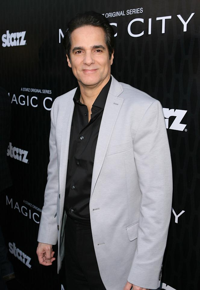 "Yul Vazquez attends the Starz '<a target=""_blank"" href=""http://tv.yahoo.com/magic-city/show/46996"">Magic City</a>' Los Angeles Series Premiere at Directors Guild Of America on March 20, 2012 in Los Angeles, California."