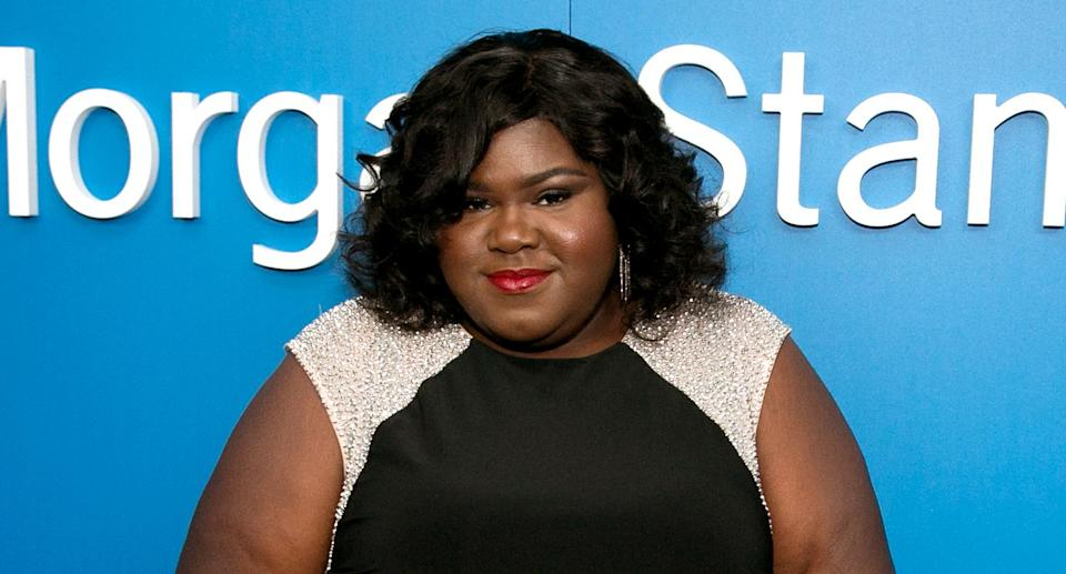 Actress Gabourey Sidibe is the keynote speaker at the fourth annual theCurvyCon event during New York Fashion Week. (Photo: Gabriel Olsen/WireImage)