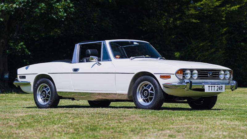 1977 Triumph Stag MK III Manual OD owned by Anthony Hamilton
