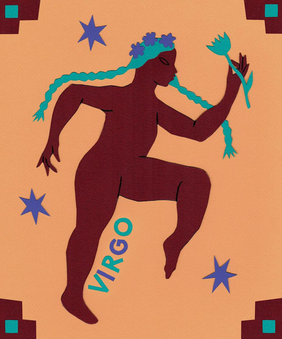 "<strong>Virgo</strong><br><strong>23rd August to 22nd September</strong><br><br>You're ready to command attention at work, Virgo. Status-conscious Mercury sashays into the charismatic sign of Leo starting August 4, helping to elevate your career. Use this transit to be extra aware of how you present yourself to others in a professional setting. Money-minded Venus makes her entrance into <a href=""https://www.refinery29.com/en-us/cancer-zodiac-sign-characteristics-personality-traits"" rel=""nofollow noopener"" target=""_blank"" data-ylk=""slk:conservative Cancer"" class=""link rapid-noclick-resp"">conservative Cancer</a> on August 7, directing your purchases towards home goods and gifts for loved ones. If you're on a budget, learn to DIY gifts, or try your hand at baking some delicious treats for your family. You've got a great schedule — but can you stick to it? Routine-ruling Uranus stations retrograde in steady Taurus on August 15, preventing any significant changes to your daily duties. Enjoy finding your flow and make time for meditation as Uranus moves in reverse. The spotlight belongs to you starting August 22, as the Sun beams on your 1st house of self, first impressions, and appearance. Treat yourself to something special, and celebrate your season with your favourite people (from a slight distance)."