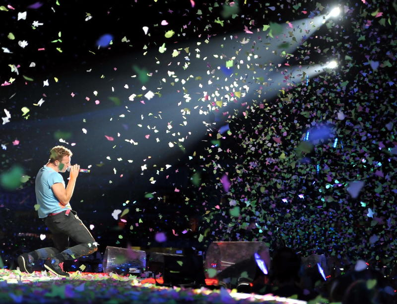 I Coldplay live a Sydney