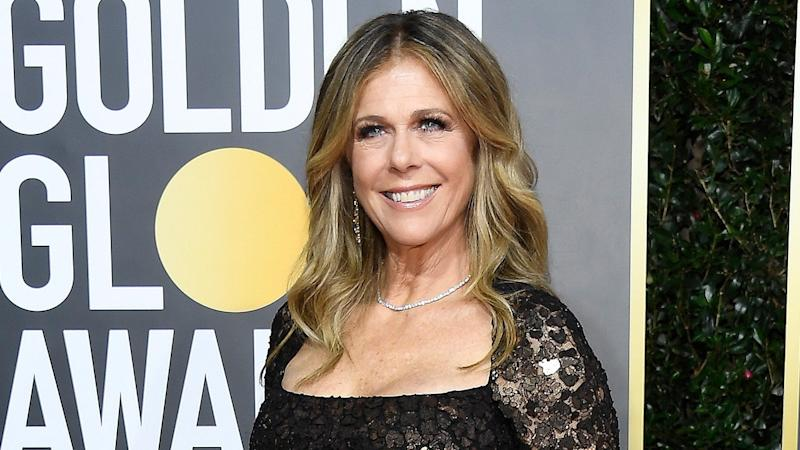Rita Wilson Reveals Her Hair and Makeup Artist Is Late for Her Golden Globes Glam