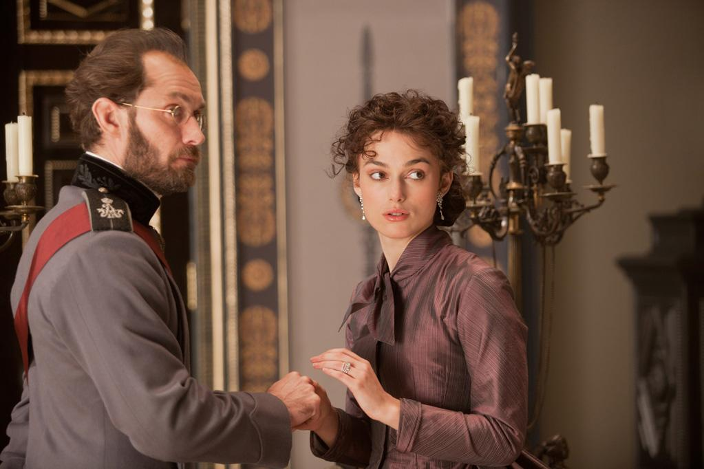 "Jude Law and Keira Knightley in Focus Features' ""Anna Karenina"" - 2012"