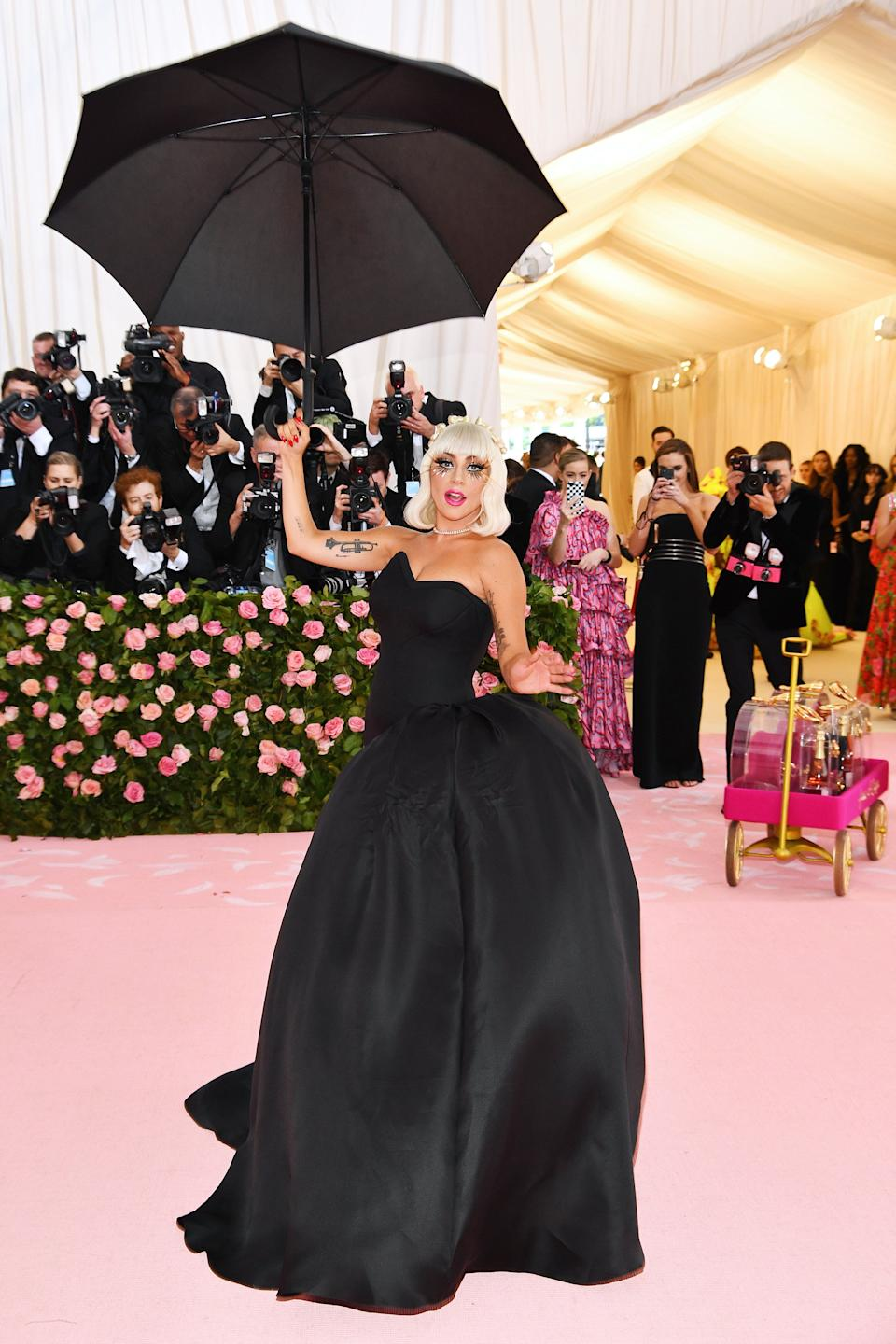 NEW YORK, NEW YORK - MAY 06: Lady Gaga attends The 2019 Met Gala Celebrating Camp: Notes on Fashion at Metropolitan Museum of Art on May 06, 2019 in New York City. (Photo by Dimitrios Kambouris/Getty Images for The Met Museum/Vogue)