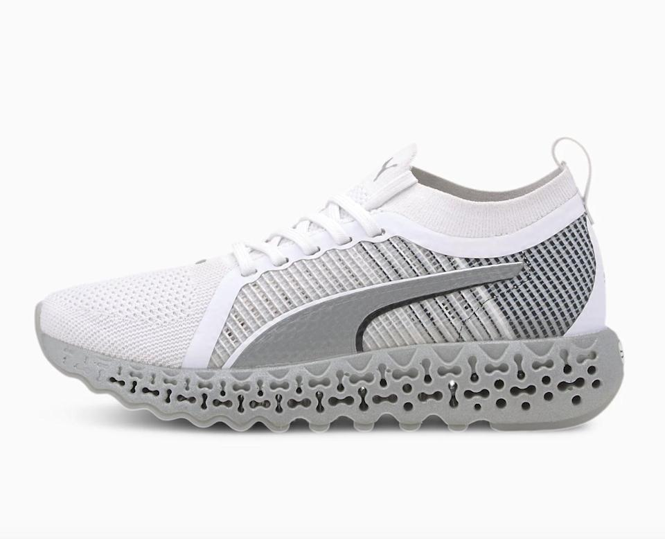 <p>Flexibility is super important in a walking shoe, and the <span>Puma Calibrate Runner Sneakers</span> ($140) are made from a sock-like knit fabric. These will be great for your jogs, too.</p>