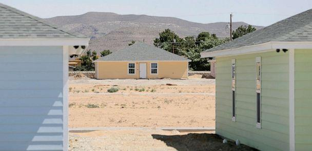 PHOTO: An Office of Refugee Resettlement shelter for unaccompanied migrant children is under construction in El Paso, Texas, June 10, 2020. (El Paso Times via USA Today Network, FILE)