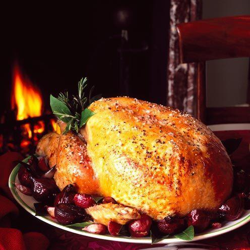 "<p>Treat Christmas guests to this delicious roast turkey recipe</p><p><strong>Recipe: <a href=""https://www.goodhousekeeping.com/uk/food/recipes/a536062/traditional-roast-turkey/"" rel=""nofollow noopener"" target=""_blank"" data-ylk=""slk:Traditional Roast Turkey"" class=""link rapid-noclick-resp"">Traditional Roast Turkey</a></strong></p>"