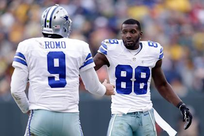 The Cowboys used the franchise tag on Dez Bryant this month. (Getty Images)