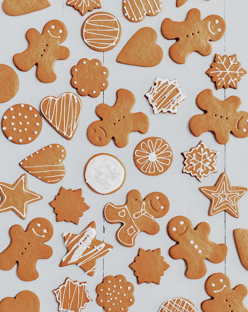 Cookie Of The Day Iced Gingerbread Cookies