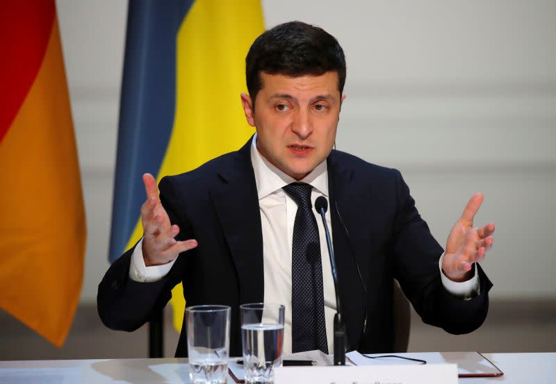 Ukraine president signals possible government reshuffle as trust declines