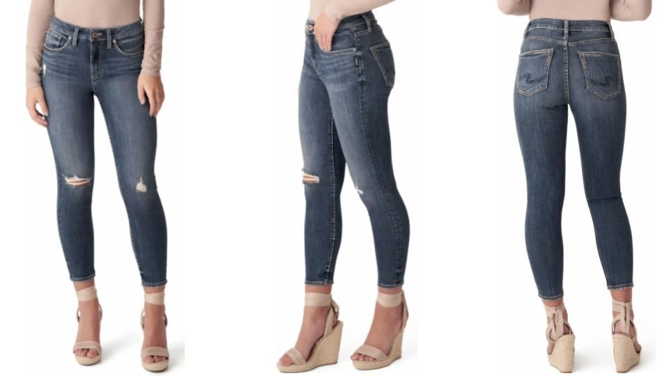 Silver Jeans Co. Avery Crop Skinny Jeans - Nordstrom, $44 (originally $74)