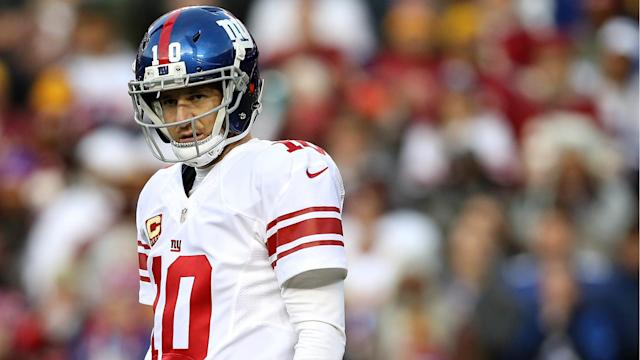 The benched Giants QB had never thought of playing for another team, but now he'll have to think about his options.