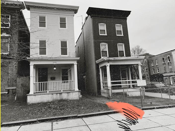 Margaret Hawkins and Augusta Chissell lived side by side in a pair of three-story brick row houses in Baltimore. They were united by the push for racial and women's equality.