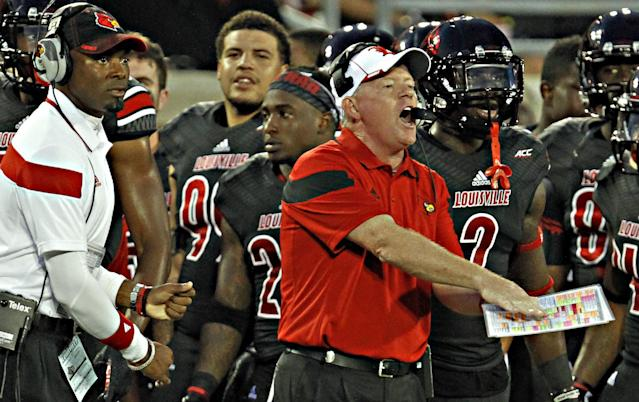 The new Bobby Petrino Era in Louisville picks up where the old one left off