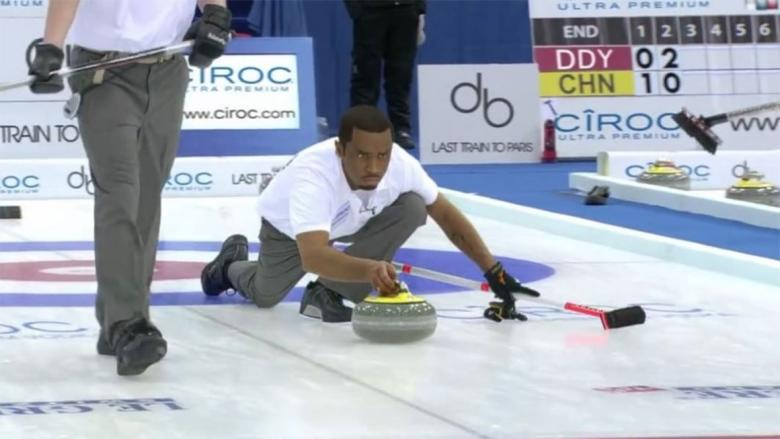 Diddy's curling commercial is a hit with Canadian pros