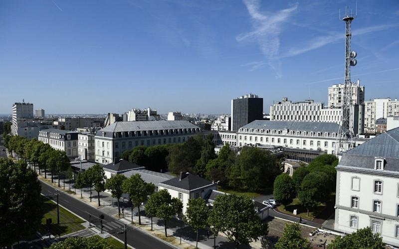 The headquarters of the General Directorate for External Security (DGSE), France's equivalent of MI6 - AFP