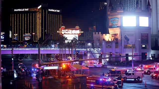 Sunday's horrific mass shooting in Las Vegas once again shines a light on a nation awash in guns, with relatively few restrictions on their purchase or possession.